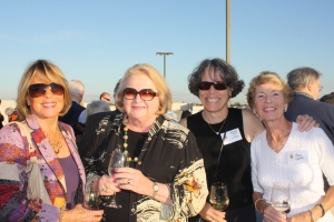 Nancy Fisher, Sandy Smoley, Susan Timmer and Gay Goff celebrated the Empty Bowls kickoff at Harvest for Hunger